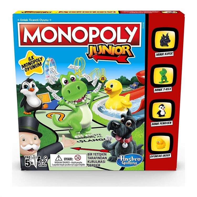 Monopoly Junior Party A6984 Hasbro 2713
