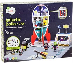 Kroom Galactic Polis 738 Space Station Playset