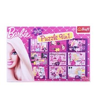 Barbie 9 İn 1 Mix Puzzle
