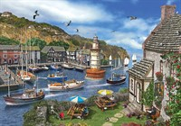 Ks 2000 Parça Puzzle The Village Harbour